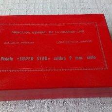 Militaria: CAJA DE PISTOLA SUPER STAR CAL. 9 MM CORTO GUARDIA CIVIL.ULTIMA UNIDAD DISPONIBLE. Lote 58120798