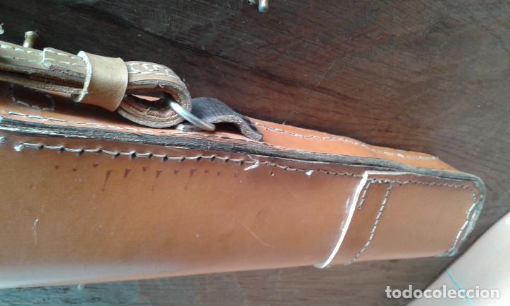 Funda de cuero para escopeta de caza medida 116 comprar art culos y complementos militares - Funda escopeta ...