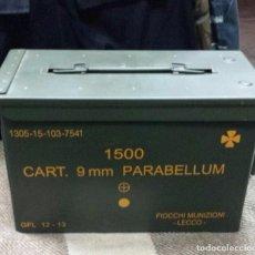 Militaria: CAJA DE MUNICIÓN HERMÉTICA, VACÍA DE MUNICIÓN 30X15X18 CMS. Lote 68062485