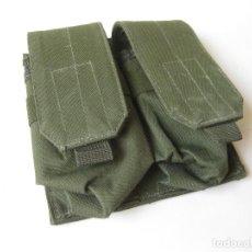Militaria: CARTUCHERA KAKI DEL EJERCITO. Lote 89729308