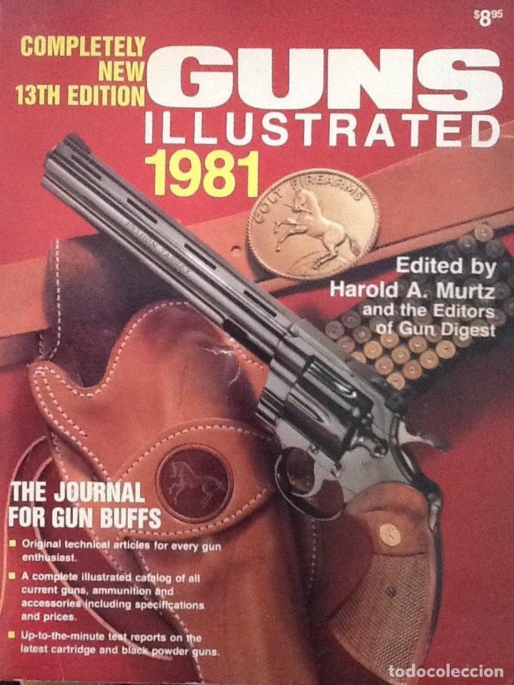 Militaria: Lote de Gun digest (1970-1974, 1981) + Handgun digest + 2 Manuales NRA International shooting - Foto 3 - 91111165