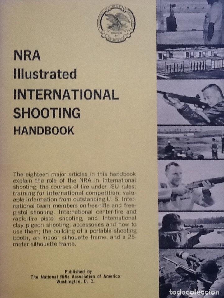 Militaria: Lote de Gun digest (1970-1974, 1981) + Handgun digest + 2 Manuales NRA International shooting - Foto 5 - 91111165