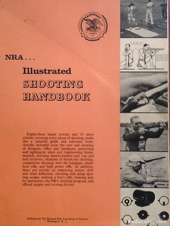 Militaria: Lote de Gun digest (1970-1974, 1981) + Handgun digest + 2 Manuales NRA International shooting - Foto 6 - 91111165