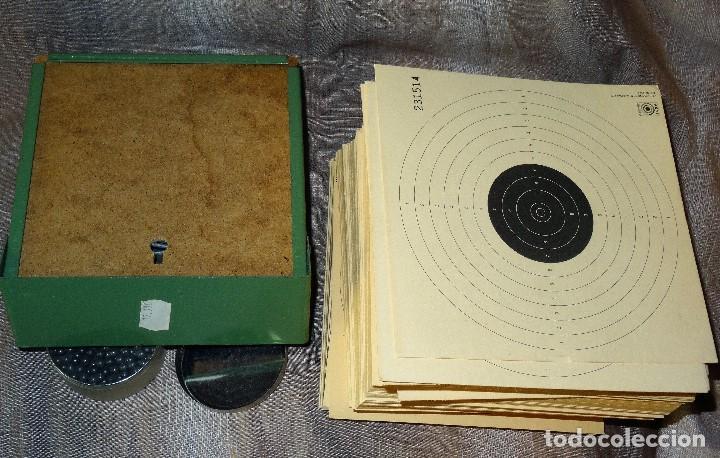 Militaria: CAJA METALICA FIJA DIANA + CAJA PERDIGONES AIRE COMPRIMIDO DE 5,5 + 300 DIANAS DE CARTON - Foto 4 - 93032445