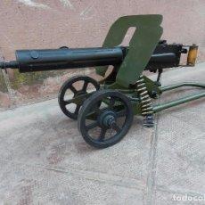 Militaria: IMPRESIONANTE AMETRALLADORA RUSA MAXIM SOKOLOV 1910 IIGM MAQUETA DE ACADEMIA MILITAR MUY RARA. Lote 99814435