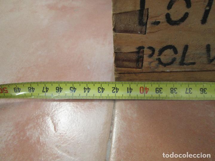 Militaria: Caja de 1000 cartuchos de 7,62 X 51 Nato Español F.N.P. (vacia claro esta) - Foto 8 - 106659903