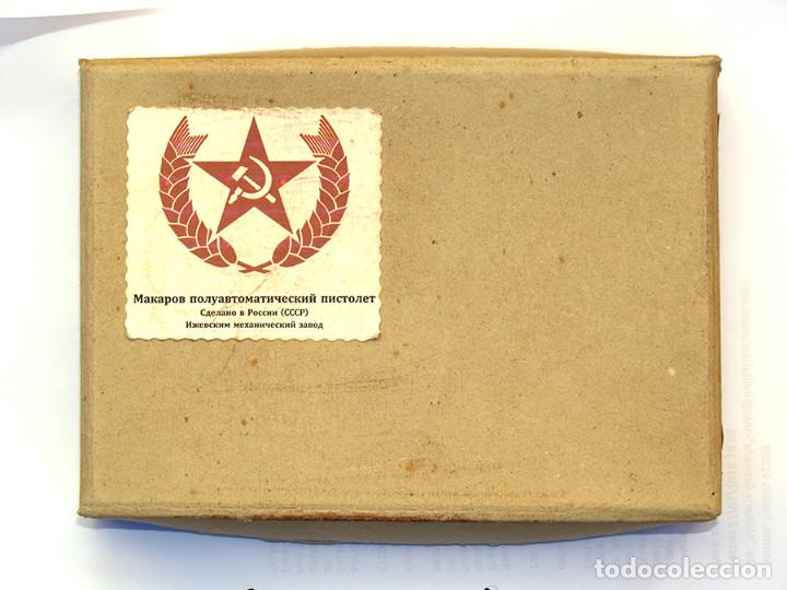 Militaria: CAJA PARA PISTOLA MACAROV - Foto 2 - 111354815