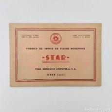 Militaria: CATÁLOGO MANUAL SUB FUSIL STAR Z-45 45MM. INCLUYE DOS DESPLEGABLES. Lote 118556987