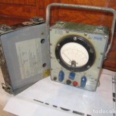 Militaria: US NAVY MILITARY MULTIMETER AN PSM 6 AF33 BRUNO-NY MULTIMETRO. Lote 122788047