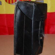 Militaria: CARTUCHERA MILITAR DE DOBLE COMPARTIMENTO. Lote 127087391