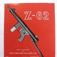 Militaria: DIPTICO DE PROPAGANDA SUBFUSIL STAR Z-62 - Z62 EN INGLES.. Lote 128229075