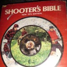 Militaria: SHOOTER´S BIBLE , EDICION 1974, CATALAGO INTERNACIONAL. PISTOLAS,REVOLVERES,RIFLES,ESCOPETAS,AIRE,MU. Lote 129339583