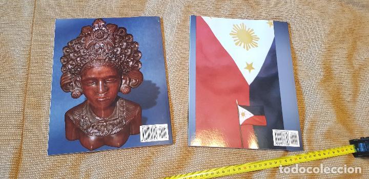 Militaria: Lote 2 libros armas blancas Filipinas Indonesia kris moroland museum - Foto 2 - 137179430