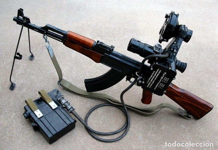 Militaria: VISOR NOCTURNO NSP2 PARA AK47 o SIMILAR - Foto 8 - 140731930