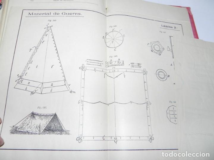 Militaria: MEDIALDEA MUÑOZ, Federico - Ametralladoras y MATERIAL DE GUERRA. Toledo, Imp. Vda. e hijos de Pelaez - Foto 6 - 142526810