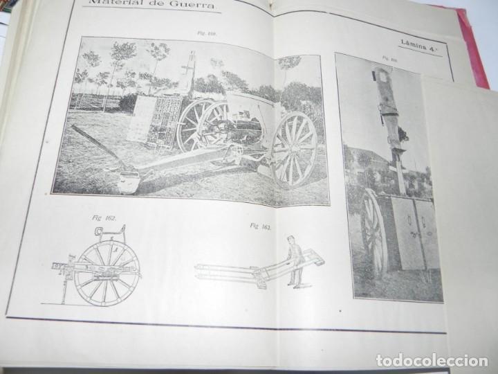 Militaria: MEDIALDEA MUÑOZ, Federico - Ametralladoras y MATERIAL DE GUERRA. Toledo, Imp. Vda. e hijos de Pelaez - Foto 7 - 142526810