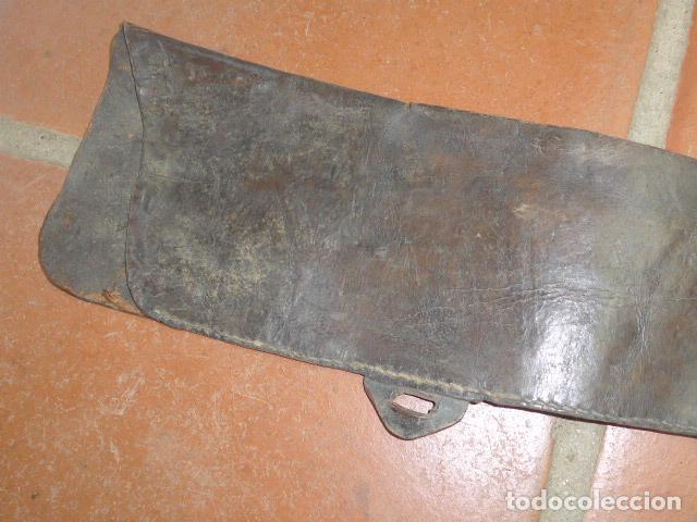 Militaria: Antigua funda de rifle o fusil, seguramente de winchester de finales s.XIX, original - Foto 2 - 149751158