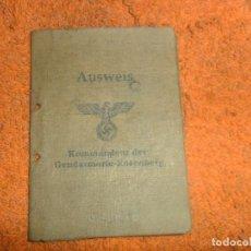 Militaria: AUSWETS ALEMAN 1941 . Lote 150921242