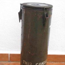 Militaria: CAJA, CONTENEDOR MILITAR 53X19CM. Lote 155970050