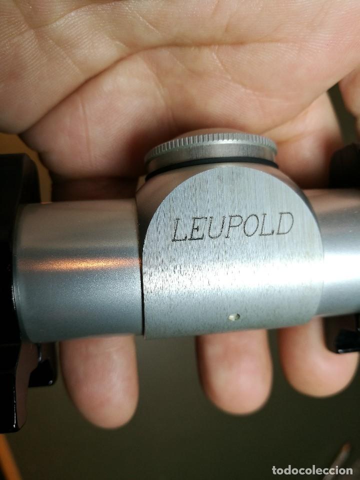 Militaria: VISOR PARA PISTOLA----Leupold M8 2x Silver Pistol Scope-MADE IN USA-----REF-CV - Foto 12 - 159483354