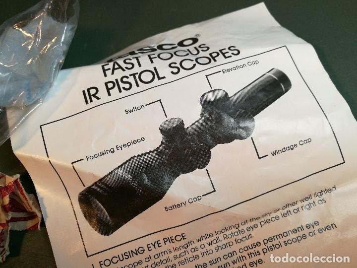 Militaria: VISOR TASCO IR 1,5 X 20 P..ILUMINADO POINTING SCOPE--años 90---MADE IN JAPAN-MONTURA AK-47--REF-CV - Foto 4 - 159488526