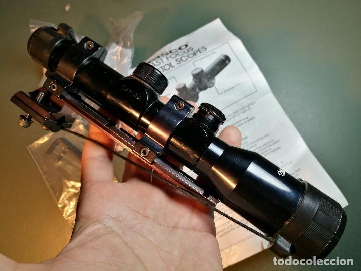 Militaria: VISOR TASCO IR 1,5 X 20 P..ILUMINADO POINTING SCOPE--años 90---MADE IN JAPAN-MONTURA AK-47--REF-CV - Foto 7 - 159488526