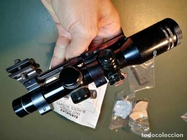 Militaria: VISOR TASCO IR 1,5 X 20 P..ILUMINADO POINTING SCOPE--años 90---MADE IN JAPAN-MONTURA AK-47--REF-CV - Foto 13 - 159488526