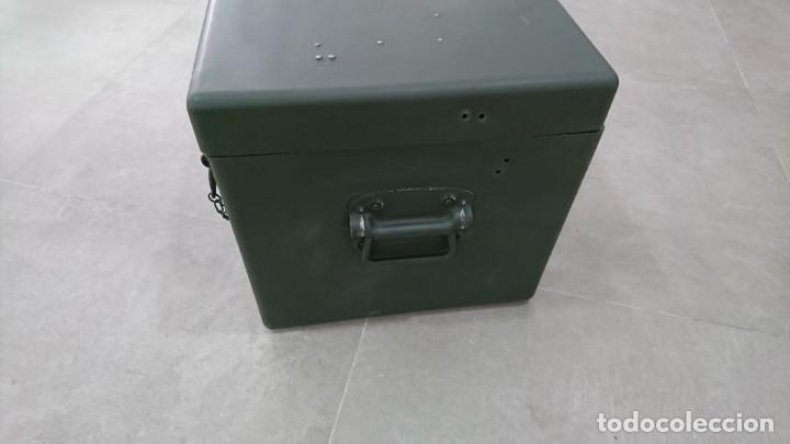 Militaria: Caja de transporte para visor antieaereo VISIERKOPF 3.7 - Foto 3 - 162021538