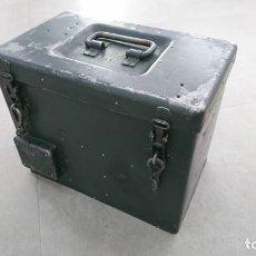 Militaria: CAJA DE TRANSPORTE PARA VISIERKOPF 38/40. Lote 162115594