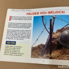 Militaria: MANUALES TODO ARMAS 7 BAYONETAS (Y II). Lote 170970560