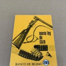 Militaria: NUEVA LEY DE CAZA. Lote 170970935