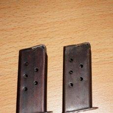 Militaria: LOTE DE 2 CARGADORES PISTOLA ERMA RG 25 CALIBRE 6,35MM ( .25ACP ). Lote 226915285