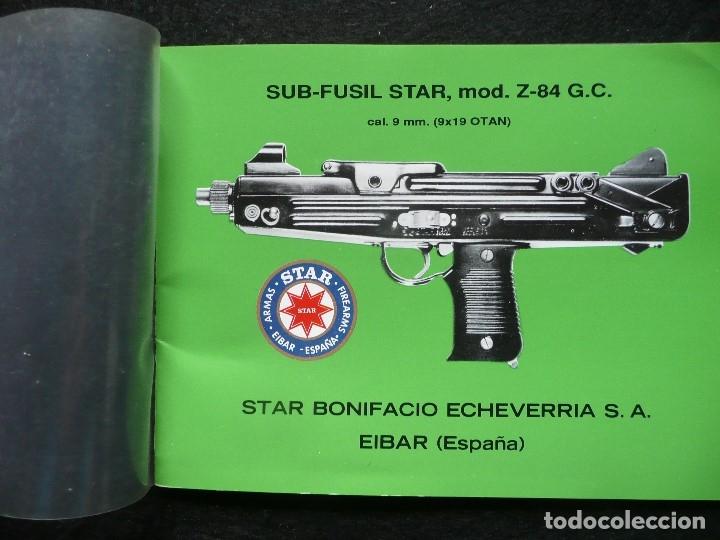 STAR-CATALOGO SUB·FUSIL STAR Z-84 G.C (Militar - Otros Artículos Relacionados con Armas)