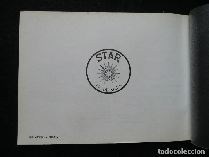 Militaria: STAR-CATALOGO SUBMACHINE GUN=STAR MODELO Z-63=SUBFUSIL AMETRALLADOR - Foto 2 - 172397707