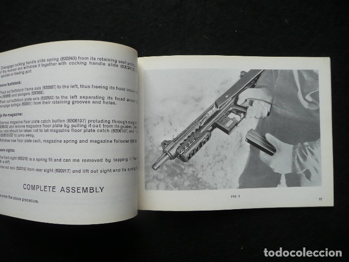 Militaria: STAR-CATALOGO SUBMACHINE GUN=STAR MODELO Z-63=SUBFUSIL AMETRALLADOR - Foto 6 - 172397707