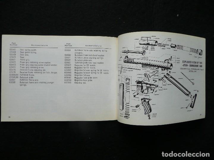 Militaria: STAR-CATALOGO SUBMACHINE GUN=STAR MODELO Z-63=SUBFUSIL AMETRALLADOR - Foto 11 - 172397707