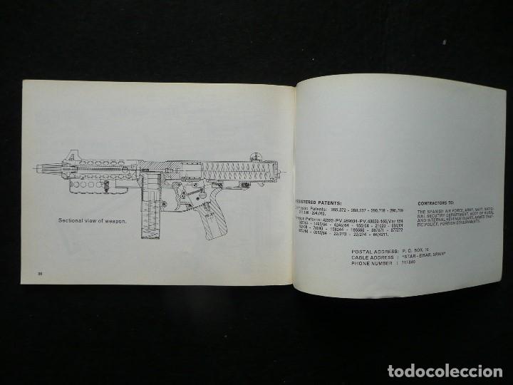Militaria: STAR-CATALOGO SUBMACHINE GUN=STAR MODELO Z-63=SUBFUSIL AMETRALLADOR - Foto 12 - 172397707