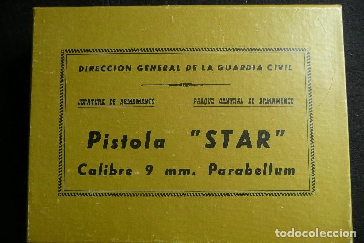 Militaria: ANTIGUA CAJA/EMBALAJE -PISTOLA STAR 9MM PARABELLUM- - Foto 2 - 172798469