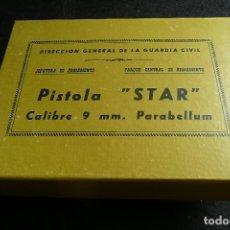 Militaria: ANTIGUA CAJA/EMBALAJE -PISTOLA STAR 9MM PARABELLUM-. Lote 172798469