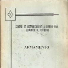 Militaria: CURIOSO LIBRO DE ARMAMENTO DEL CENTRO DE INSTRUCCIÓN DE LA GUARDIA CIVIL,. Lote 175358923