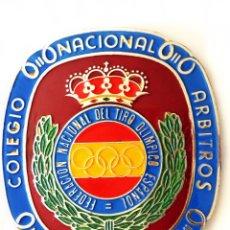 Militaria: FEDERACIÓN NACIONAL DE TIRO OLIMPICO DE PRECISIÓN.PLACA DE ARBITROS. . Lote 177312749