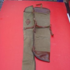 Militaria: VIEJA FUNDA PARA ESCOPETA DE CAZA...AÑOS 80..LONETA... Lote 178187061