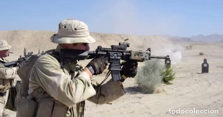 Militaria: Mira Trijicon Reflex II Con Montura Fuerzas Especiales USA - Foto 7 - 180469276
