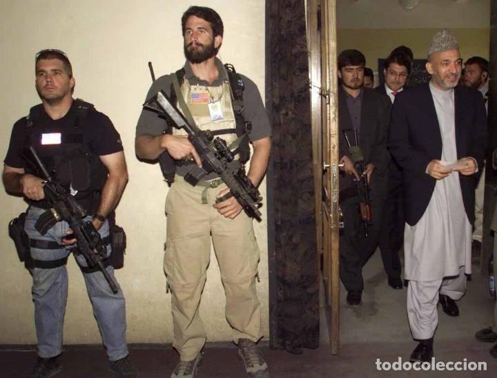 Militaria: Mira Trijicon Reflex II Con Montura Fuerzas Especiales USA - Foto 8 - 180469276