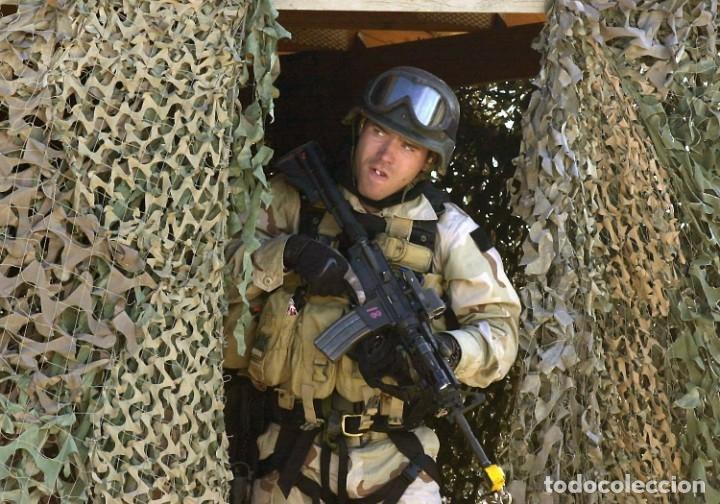 Militaria: Mira Trijicon Reflex II Con Montura Fuerzas Especiales USA - Foto 9 - 180469276