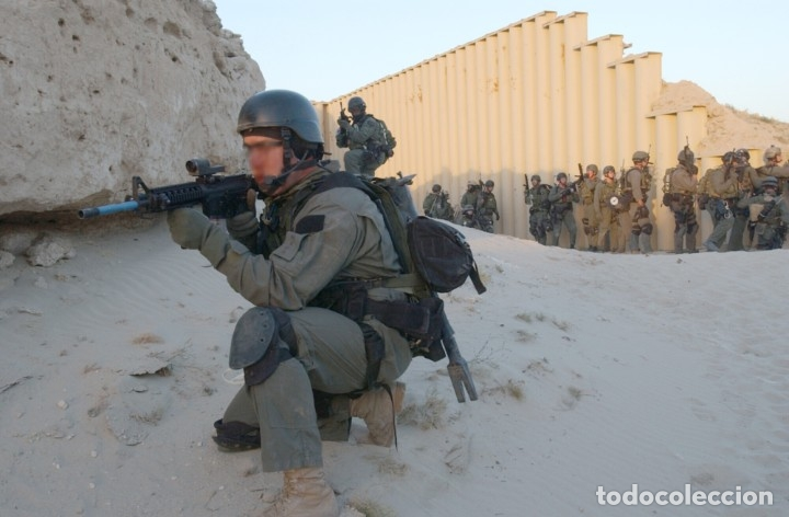 Militaria: Mira Trijicon Reflex II Con Montura Fuerzas Especiales USA - Foto 10 - 180469276