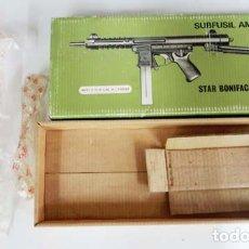 Militaria: ORIGINAL CAJA VACÍA DEL SUBFUSÍL STAR-Z. Lote 181755553