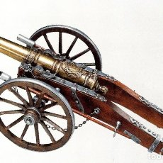 Militaria: CAÑON FRANCES LUIS XIV, SIGLO SVIII - LONG. 45 CM. Lote 184742075