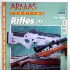 Militaria: RIFLES I, TOMO MONOGRAFÍA RIFLES, DE LA REVISTA ARMAS. Lote 185735495