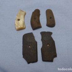 Militaria: * ANTIGUO LOTE DE CACHAS DE PISTOLA O REVOLVER, ORIGINALES. ZX. Lote 188838538